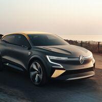 Renault Mégane eVision deja ver el futuro eléctrico del fabricante francés con su plataforma eléctrica CMF-EV