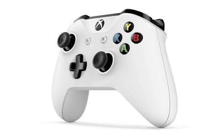 Mando Xbox One S Joystick Original Control Blanco