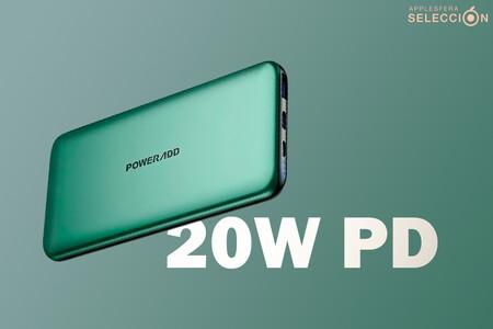 A tope de batería este verano con la Power Bank de 10.000mAh y 20W PD con QC 3.0 de POWERADD a 16,99 euros en Amazon