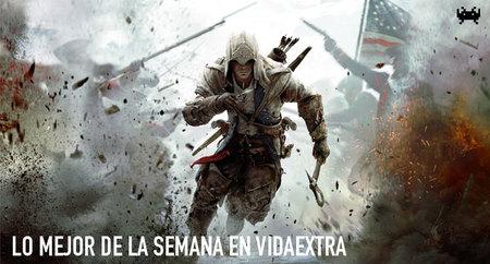 Probamos 'Assassin's Creed III', cinco aplicaciones móviles sobre juegos y la nueva PS3. Lo mejor de la semana en VidaExtra (VIII)