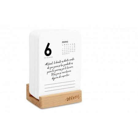 Calendario De Tarjetas Defreds