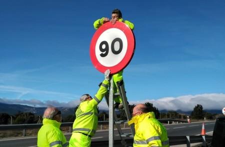 Velocidad 90 Kmh