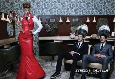 En el salón de belleza con Frankie Morello Otoño-Invierno 2011/2012