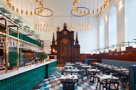 Restaurante en una iglesia en Londres
