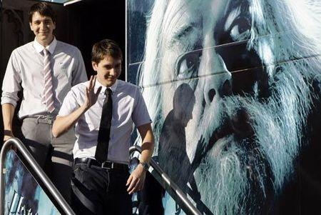 Los gemelos de Harry Potter estuvieron en Madrid