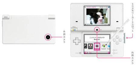 Nintendo DSi - Camaras