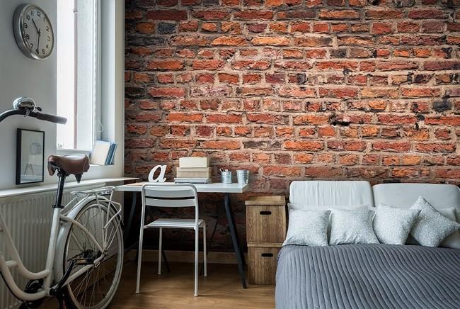 Brick Wall Mural By Wallsauce