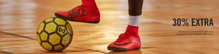 Botas de fútbol Nike con un 30% de descuento adicional, en la tienda oficial, con este cupón