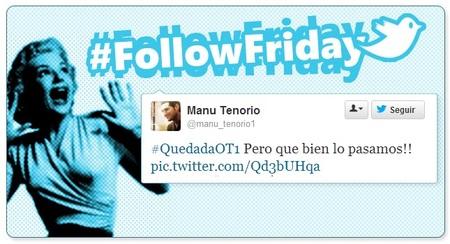 Follow Friday de Poprosa (XXIX): Entre chicas Bond, resquicios de Halloween y chulazos anda el tuit