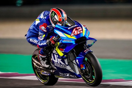 Alex Rins Test Pretemporada