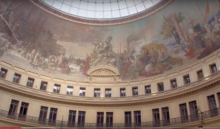 Interior Bolsa Comercio París