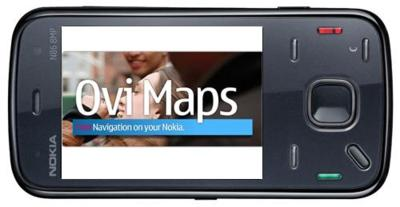 Ovi Maps y su navegación gratuita disponible para el Nokia N86 8MP