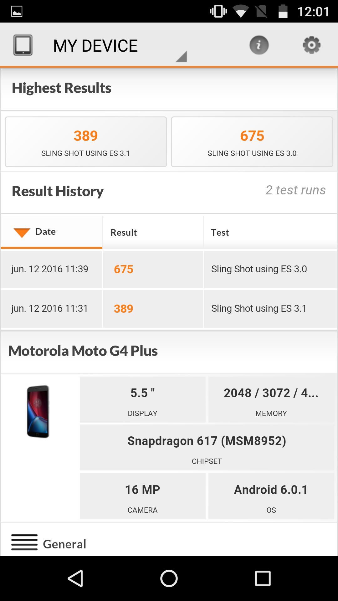 Foto de Moto G4, benchmarks (10/30)