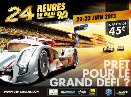 Empieza nuestro seguimiento de las 24 horas de Le Mans 2013