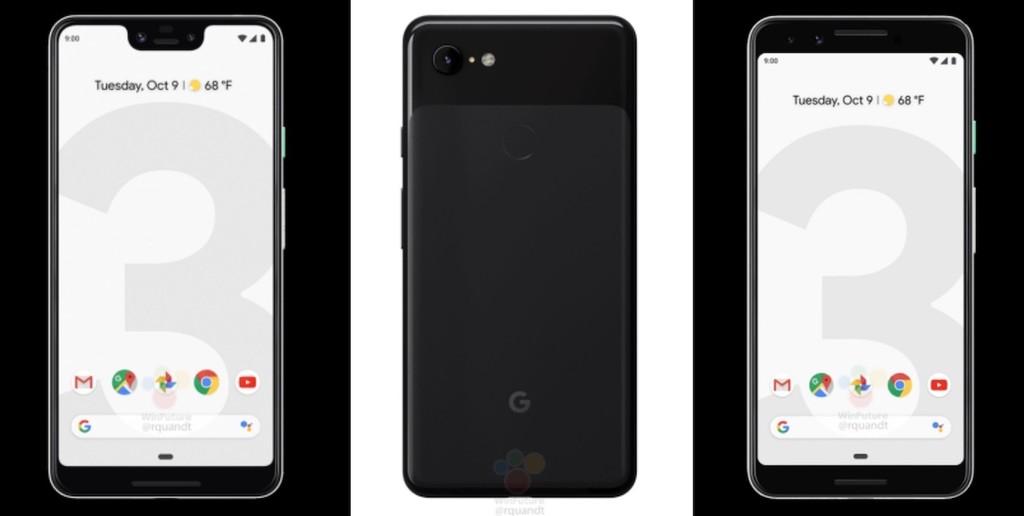 Google Pixel tres y tres XL: las imágenes oficiales filtradas confirman todos los rumores previos