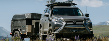 Este Lexus GXOR concept es un lujoso todoterreno con motor V8, preparado para aventuras off-road