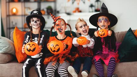 11 maquillajes de Halloween para niños, fáciles y terroríficos