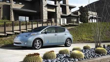 Nissan LEAF 2010 azul 20