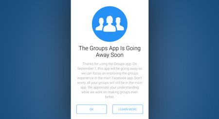 Facebook Groups se jubila: se reintegrará en el cliente oficial