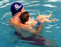 Matronatación o natación para bebes