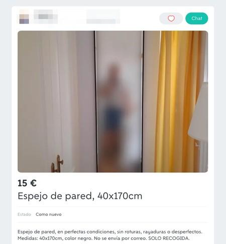 Window Y Espejo De Pared 40x170cm De Segunda Mano Por 15 Eur En Malaga En Wallapop