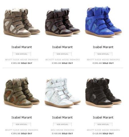 Las falsificaciones de las Bekket inundan el mercado online. ¿Cómo saber si son auténticas nuestras Isabel Marant?