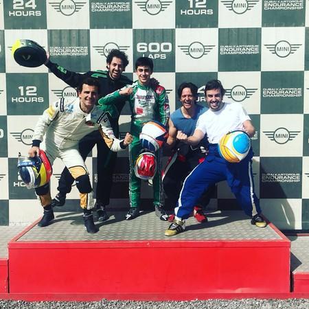 Alonso, a por sus primeras 24 Horas del año con Pedro de la Rosa... en karting
