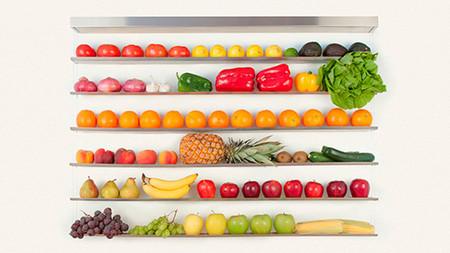 Fruit Wall, para almacenar tus frutas y verduras de forma elegante