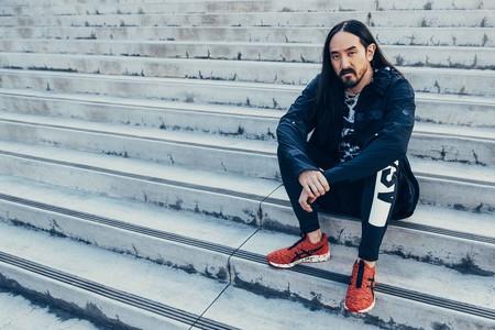 Asics Presenta Su Nueva Linea De Sneakers Hypergel Con Una Colaboracion Junto Al Dj Steve Aoki