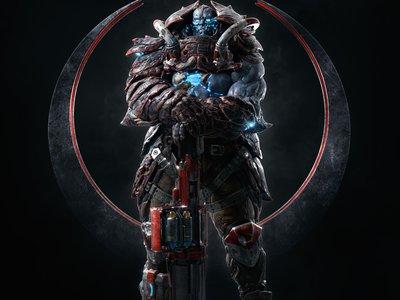 Quake Champions revela a Scalebearer, otro de sus héroes y un gran peso pesado
