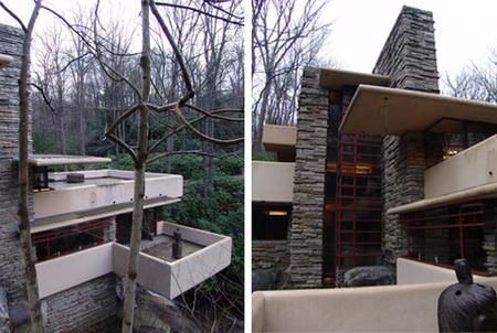 casa de la cascada - vistas exteriores
