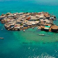 Santa Cruz del Islote, viviendo en una lata de anchoas