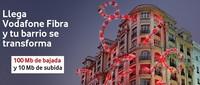 La conexión de fibra de Vodafone con 100/10 Mbps partirá de un precio de 49.55 euros mensuales