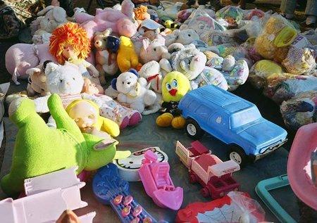 Donar los juguetes que nuestros hijos ya no usan