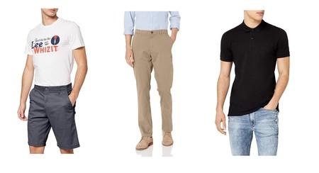 Chollos en tallas sueltas de pantalones, camisetas o polos de marcas como Lee, Jack & Jones o O`Neill por menos de 30 euros en Amazon