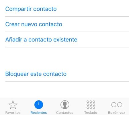 Cómo bloquear llamadas entrantes en iPhones