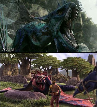 Foto de 'Avatar' Vs. 'Delgo' (4/7)