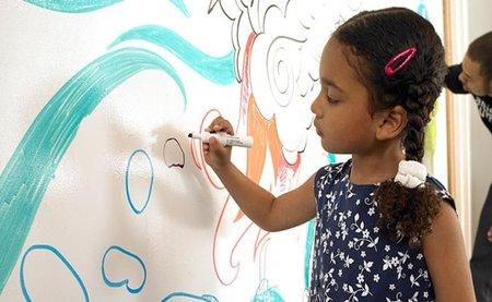 Ideapaint: los niños ya pueden pintar en las paredes