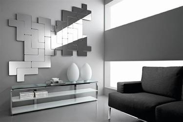 Un espejo inspirado en el tetris