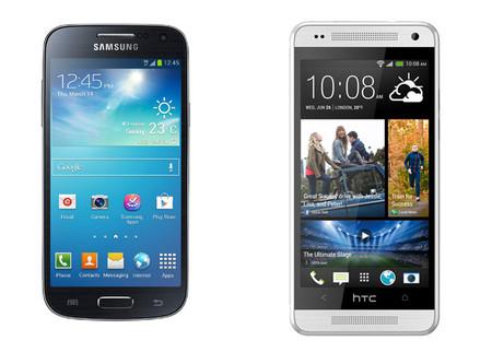 HTC One Mini contra Samsung Galaxy S4 Mini, la inevitable comparación