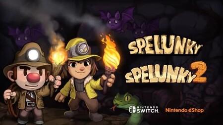 Las dos entregas de Spelunky llegarán a Nintendo Switch en el verano de 2021
