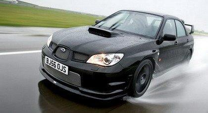 Subaru dedica una versión del Impreza a Richard Burns