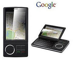 Teléfono móvil de Google: más posibles datos