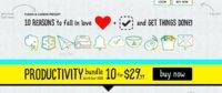Productivity Bundle: diez aplicaciones de productividad personal a precio reducido
