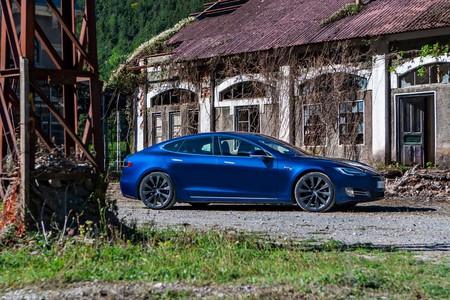 Tesla Model S prueba