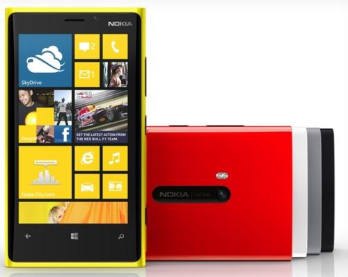 NokiaLumia920,4.5pulgadasyPureViewen8.7megapíxeles