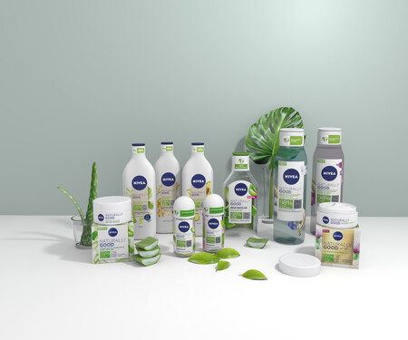 Bodegon Nivea Naturally Good Half