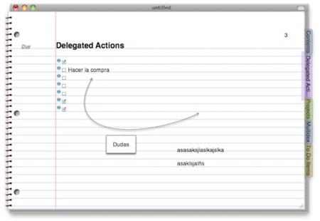 NoteBook, un cuaderno de notas para Mac OS X
