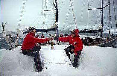 G.H. Mumm, champagne de lujo en condiciones extremas