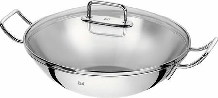 Oferta del día en el wok de acero inoxidable Zwilling Wok Plus de 32 centímetros: hasta medianoche cuesta 84,50 euros en Amazon